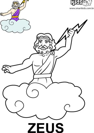 Coloring Pages Zeus : Coloring page zeus image jpg kingdom hearts canon