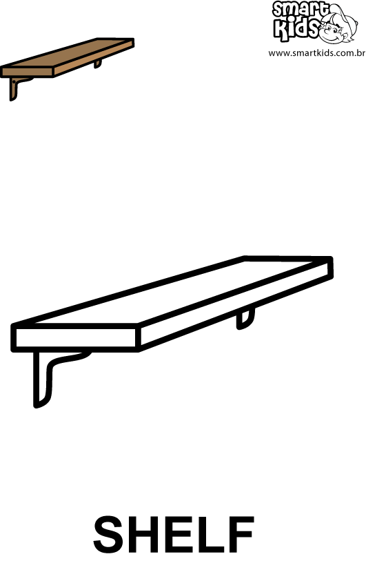 Coloring Page Pushing A Bookcase Coloring Pages Shelf Coloring Page