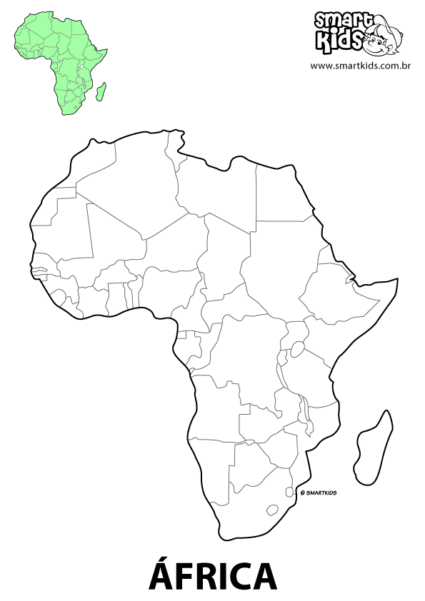 coloring pages africa - photo#21