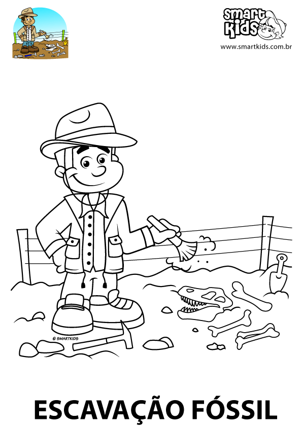 Fossil dig sites coloring pages coloring pages for Fossil coloring pages