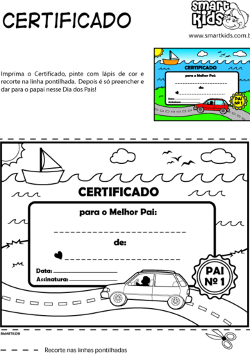 Certificado do Papai